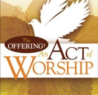 the-offering-an-act-of-worship