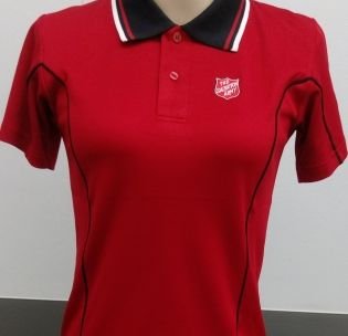 ladies-red-polo